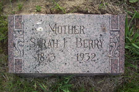 BERRY, SARAH F. - Harrison County, Iowa | SARAH F. BERRY