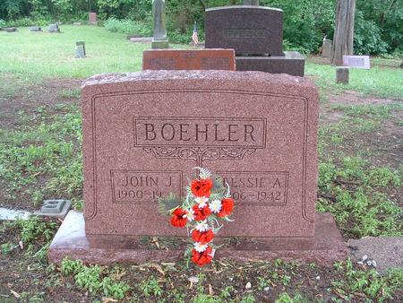 JONES BOEHLER, BESSIE - Harrison County, Iowa | BESSIE JONES BOEHLER