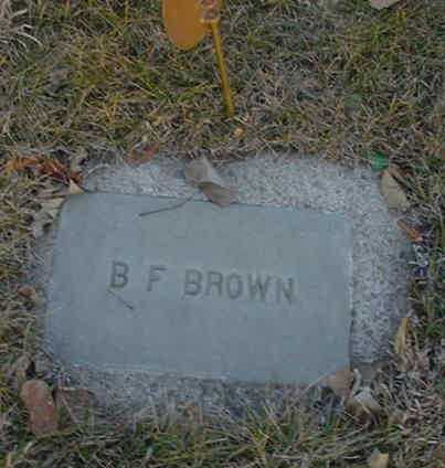 BROWN, BENJAMIN FRANKLIN