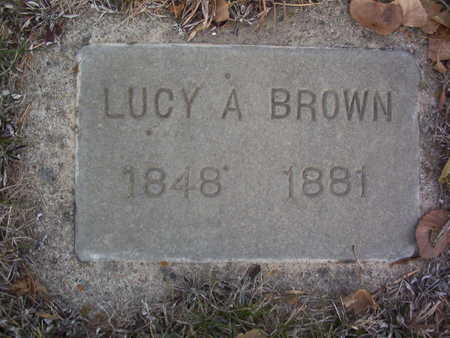 BROWN, LUCINDA