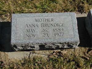 BRUNDIGE, ANNA - Harrison County, Iowa | ANNA BRUNDIGE
