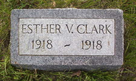 CLARK, ESTHER V. - Harrison County, Iowa | ESTHER V. CLARK