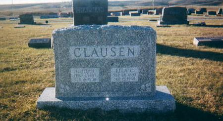 CLAUSEN, H JOHN - Harrison County, Iowa | H JOHN CLAUSEN