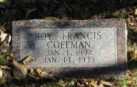 COFFMAN, ROY FRANCIS - Harrison County, Iowa | ROY FRANCIS COFFMAN