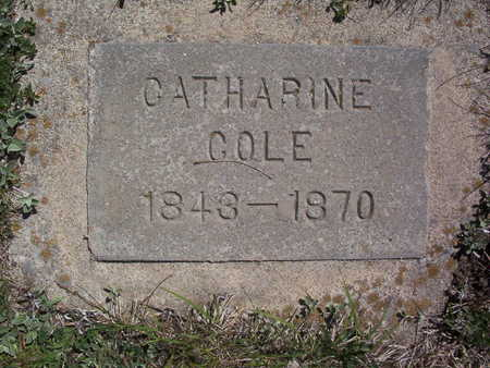 COLE, CATHERINE A. - Harrison County, Iowa | CATHERINE A. COLE