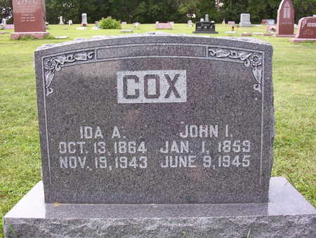 PIKE COX, IDA A. - Harrison County, Iowa | IDA A. PIKE COX