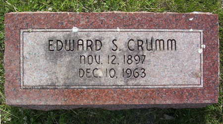 CRUMM, EDWARD S. - Harrison County, Iowa | EDWARD S. CRUMM