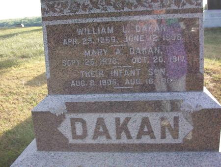 DAKAN, WILLIAM L - Harrison County, Iowa | WILLIAM L DAKAN