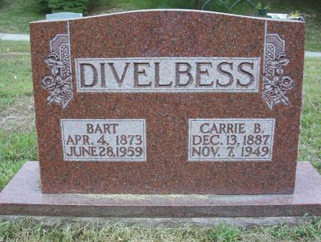 DIVELBESS, BARBARA CAROLINE (CARRIE) - Harrison County, Iowa | BARBARA CAROLINE (CARRIE) DIVELBESS
