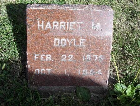 DOYLE, HARRIET M - Harrison County, Iowa | HARRIET M DOYLE