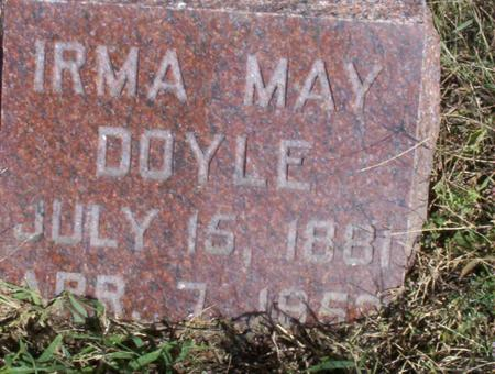 DOYLE, IRMA MAY - Harrison County, Iowa | IRMA MAY DOYLE