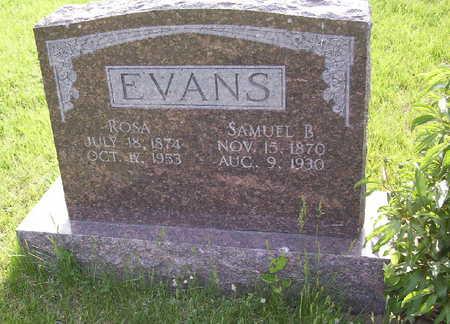 EVANS, SAMUEL BATES - Harrison County, Iowa | SAMUEL BATES EVANS