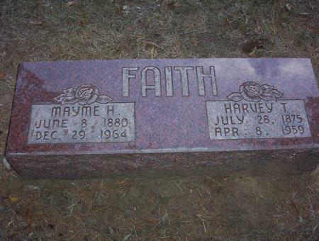 HARDER FAITH, MAYME E. - Harrison County, Iowa | MAYME E. HARDER FAITH