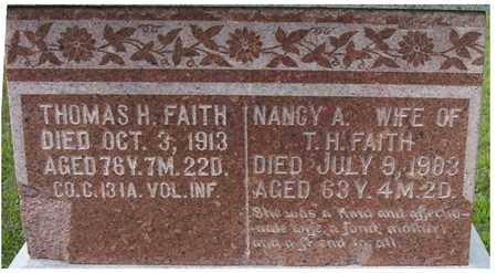 FAITH, NANCY A. - Harrison County, Iowa | NANCY A. FAITH