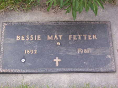 FETTER, BESSIE MAY - Harrison County, Iowa | BESSIE MAY FETTER