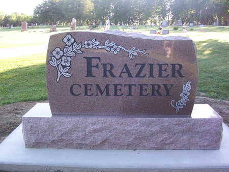 FRAZIER, CEMETERY - Harrison County, Iowa | CEMETERY FRAZIER