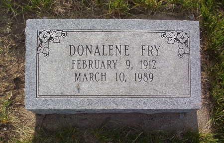 FRY, DONALENE ELIZABETH - Harrison County, Iowa | DONALENE ELIZABETH FRY