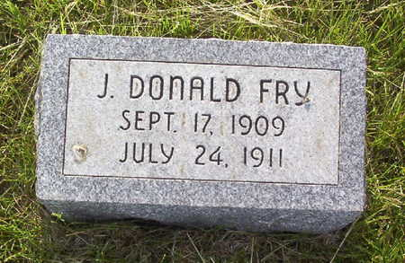 FRY, J. DONALD - Harrison County, Iowa | J. DONALD FRY