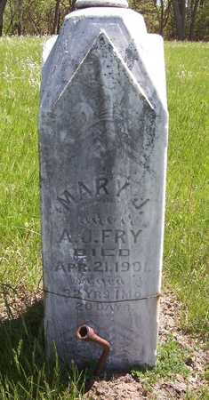 FRY, MARY J. - Harrison County, Iowa | MARY J. FRY