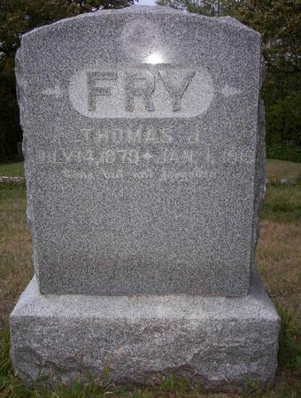 FRY, THOMAS J - Harrison County, Iowa | THOMAS J FRY