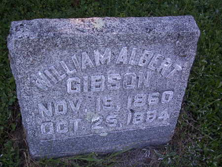 GIBSON, WILLIAM ALBERT - Harrison County, Iowa | WILLIAM ALBERT GIBSON