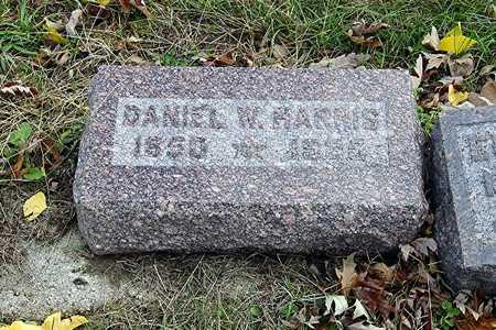 HARRIS, DANIEL WEBSTER - Harrison County, Iowa | DANIEL WEBSTER HARRIS