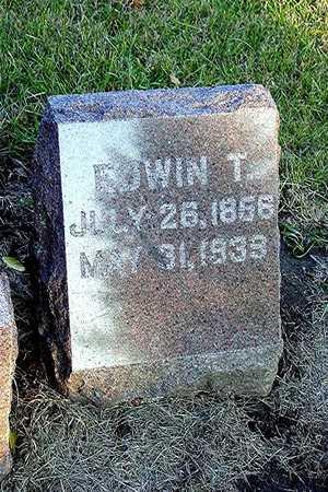 HARRIS, EDWIN TRUMAN - Harrison County, Iowa | EDWIN TRUMAN HARRIS