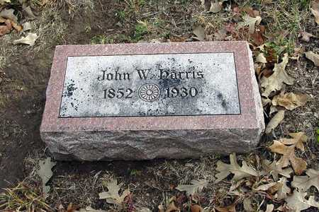 HARRIS, JOHN WILEY - Harrison County, Iowa | JOHN WILEY HARRIS