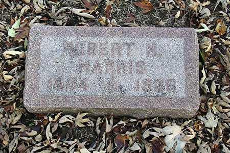 HARRIS, ROBERT HENRY - Harrison County, Iowa   ROBERT HENRY HARRIS