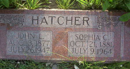 HATCHER, JOHN LENOX - Harrison County, Iowa | JOHN LENOX HATCHER