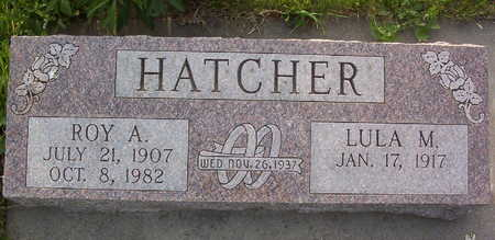 HATCHER HATCHER, LULA MAY - Harrison County, Iowa | LULA MAY HATCHER HATCHER