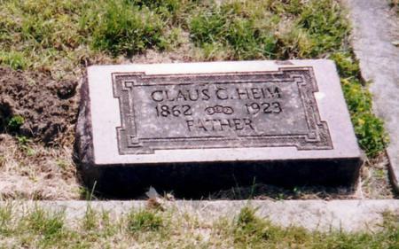 HEIM, CLAUS - Harrison County, Iowa | CLAUS HEIM