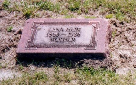 HEIM, LENA - Harrison County, Iowa | LENA HEIM