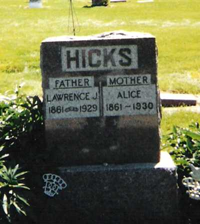 MINGUS HICKS, ALICE - Harrison County, Iowa | ALICE MINGUS HICKS