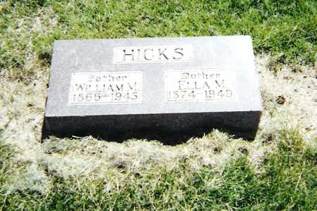 HICKS, WILLIAM M. - Harrison County, Iowa | WILLIAM M. HICKS