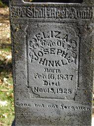 HINKLE, ELIZA - Harrison County, Iowa | ELIZA HINKLE