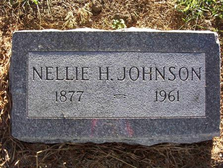 FOOTE JOHNSON, NELLIE A - Harrison County, Iowa | NELLIE A FOOTE JOHNSON