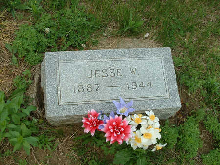 JONES, JESSE W - Harrison County, Iowa | JESSE W JONES