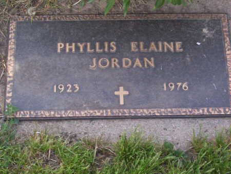 JORDAN, PHYLLIS ELAINE - Harrison County, Iowa | PHYLLIS ELAINE JORDAN