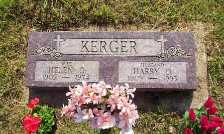 ADAMS KERGER, HELEN - Harrison County, Iowa | HELEN ADAMS KERGER