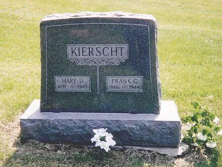 KIERSCHT, MARY D - Harrison County, Iowa | MARY D KIERSCHT