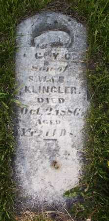 KLINGLER, COY OR GUY C. - Harrison County, Iowa | COY OR GUY C. KLINGLER
