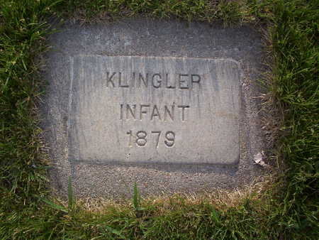 KLINGLER, INFANT SON - Harrison County, Iowa | INFANT SON KLINGLER