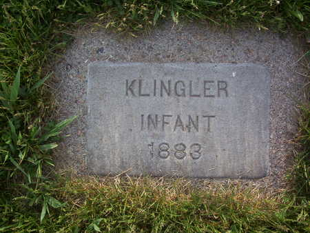 KLINGLER, INFANT - Harrison County, Iowa | INFANT KLINGLER