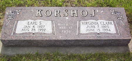 CLARK KORSHOJ, VIRGINIA - Harrison County, Iowa | VIRGINIA CLARK KORSHOJ