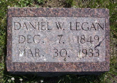 LEGAN, DANIEL W. - Harrison County, Iowa | DANIEL W. LEGAN