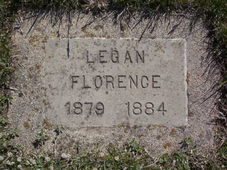LEGAN, FLORENCE - Harrison County, Iowa | FLORENCE LEGAN
