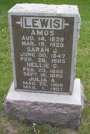 LEWIS, JULIA A. - Harrison County, Iowa | JULIA A. LEWIS
