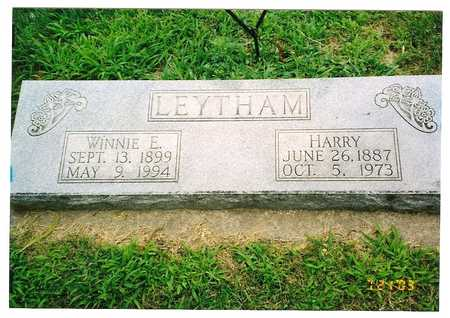LEYTHAM, HARRY & WINNIE E - Harrison County, Iowa | HARRY & WINNIE E LEYTHAM