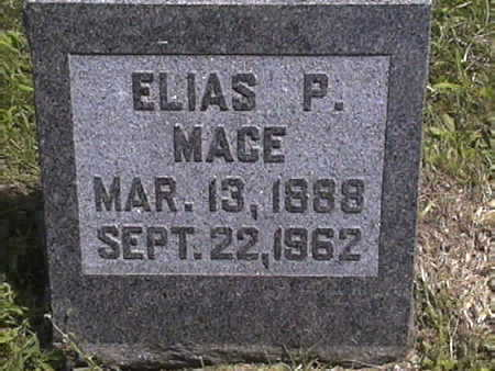 MACE, ELIAS - Harrison County, Iowa | ELIAS MACE